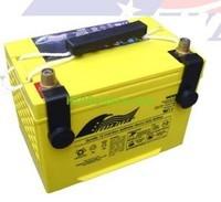 Batería de alta descarga Fullriver HC65/ST 12V 65 Ah CCA 825A 261x171,5x204 mm