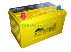 Batería de alta descarga Fullriver HC75X 12V 75 Ah CCA 930A 300x178,5x187,5 mm