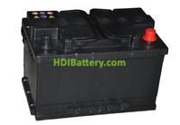 Batería de arranque 12V 80Ah TECH ITT80S.0 720A 315 x 175 x 175 mm