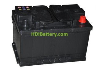 Batería de arranque 12V 95Ah TECH ITT95.0 750A 353 x 175 x 190 mm