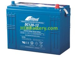 Batería de Ciclo Profundo Fullriver DC120-12C 12V 120Ah 341x172x283mm
