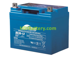 Batería de Ciclo Profundo Fullriver DC35-12B 12V 35Ah 196x131x180mm
