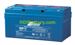 Batería de Ciclo Profundo Fullriver DC65-12A 12V 65Ah 351x167x176mm