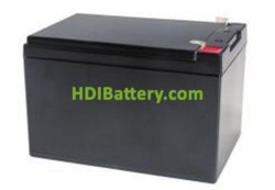 Batería de gel 12 voltios 12 amperios PBCG12-12 Premium Battery 151x98x99 mm