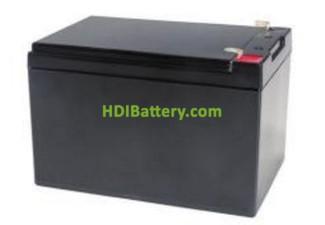 Batería de gel 12 voltios 12 amperios PBG12-12 Premium Battery 151x98x99 mm