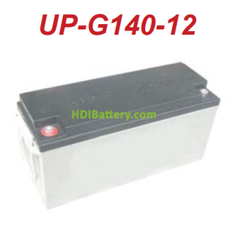 Bateria de gel 12 Voltios 135 Amperios U-POWER UP-G140-12 (482 x 171 x 240 mm)