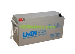 Bateria de Gel 12 Voltios 150 Amperios LVJ150-12 Liven Battery