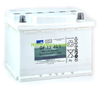 Batería de gel 12 Voltios 40 Amperios Sonnenschein GF12040Y 242mm (L) x 175mm (An) x 190mm (Al)