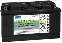 Batería de gel 12 Voltios 65 Amperios Sonneschein GF12065Y 353mm x 175mm x 190mm