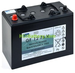 Batería de gel 12 Voltios 86 Amperios Sonneschein GF12076V 330mm x 171mm x 236mm