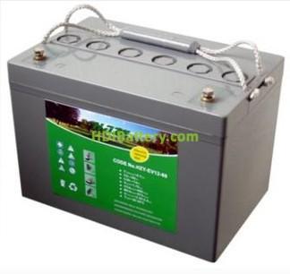 Bateria de gel HAZE 12 voltios 60 Amperios HZY-EV12-60 260x168x180mm