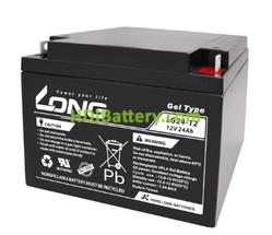 Batería de GEL Long 12 Voltios 24 Amperios LG24-12N