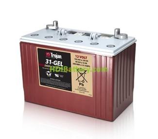 Batería de gel Trojan 31-GEL 12V 102Ah Ciclo profundo