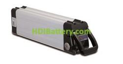Batería de litio para bicicleta electrica 24V 10Ah + Cargador + Soporte