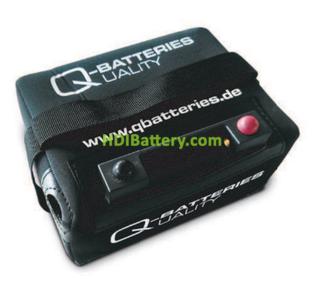 Batería de litio para carro de golf 12v 18ah Q-Bateries + Kit de carga ¡ Hasta 2000 ciclos ¡