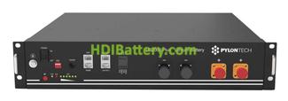 Batería de Litio Pylontech 2.4 kWh 48V US2000B Plus