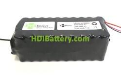 Batería de litio Samsung 36V 11,6Ah