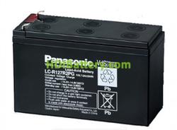 Batería de plomo 12V 7.2Ah F1 Panasonic LC-R127R2PG