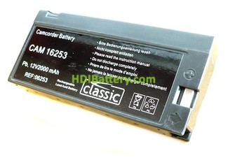 Batería de plomo 12v 2ah Classic CAM 16253