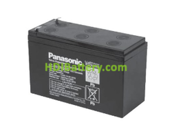 Batería de plomo 12V 7.2Ah F2 Panasonic LC-R127R2PG1