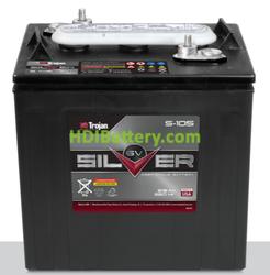 Batería de plomo abierto para tracción Trojan S105 6 Voltios 215 Amperios (ELPT)
