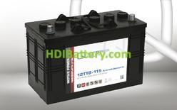 Batería de plomo ácido con placa tubular 12 voltios 115 Amperios Q-bateries 12TTB-115