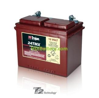 Batería de plomo ácido abierto Trojan 24TMX 12V 85Ah Ciclo profundo