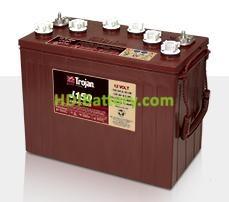 Batería de plomo ácido abierto Trojan J150 12V 150Ah Ciclo Profundo