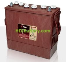 Batería de plomo ácido abierto Trojan J185G-AC 12V 185Ah Ciclo Profundo