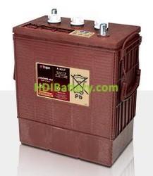 Batería de plomo ácido abierto Trojan J305HG-AC 6V 360Ah Ciclo profundo