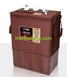 Batería de plomo ácido abierto Trojan L16E-AC 6V 370Ah Ciclo profundo