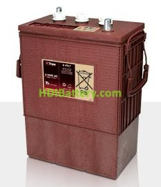 Batería de plomo ácido abierto Trojan L16HG-AC 6V 435Ah Ciclo profundo