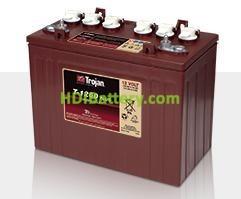 Batería de plomo ácido abierto Trojan T-1260 12V 140Ah Ciclo Profundo