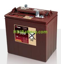 Batería de plomo ácido abierto Trojan T-605 6V 210Ah Ciclo profundo