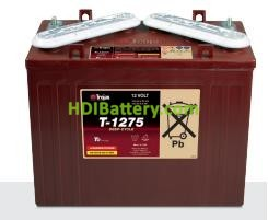 Batería de plomo ácido abierto Trojan T1275 12V 150Ah Ciclo Profundo