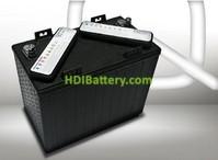 Batería de plomo ácido ciclo profundo 12v 150Ah 12DC-150 Q-Batteries 328mm (L) x 180mm (An) x 276mm (Al)