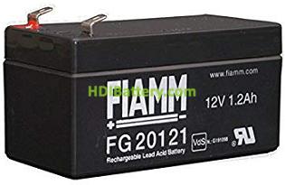 Batería de Plomo AGM 12 Voltios 1.2 Amperios FG20121 FIAMM