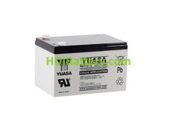 Batería de plomo AGM 12 Voltios 14 Amperios 151x98x98 mm Yuasa REC14-12