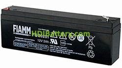 Batería de Plomo AGM 12 Voltios 2 Amperios FG20201 FIAMM