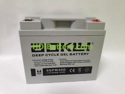 Batería de GEL 12 Voltios 40 Amperios AOKLY POWER 6-GFM-40G (197X166X171 mm)