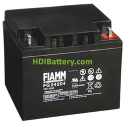 Batería de Plomo AGM 12 Voltios 42 Amperios FG24204 FIAMM