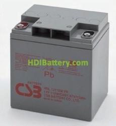 Batería de plomo AGM 12v 28ah HRL12110W FR CSB