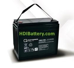 Batería de plomo AGM cíclica 12v 143Ah 12LC-134 Q-Batteries