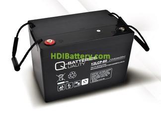 Batería de plomo AGM cíclica 12v 63Ah 12LCP-60 Q-Batteries
