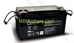 Batería de plomo AGM cíclica 12v 80Ah 12LC-80 Q-Batteries