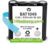 Batería de reemplazo BP38 para Walkie Uniden