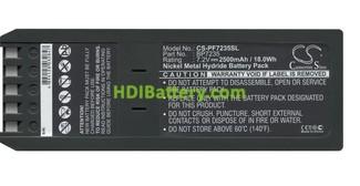 Batería de reemplazo BP7235 para Calibrador Fluke 7,2V 2500mAh NI-MH