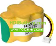 Batería de reemplazo para Robot Ecovacs D76