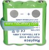 Batería de reemplazo para Walkie Topcom 9100