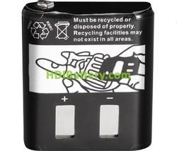 Batería de reemplazo RB4002B para walkie MOTOROLA
